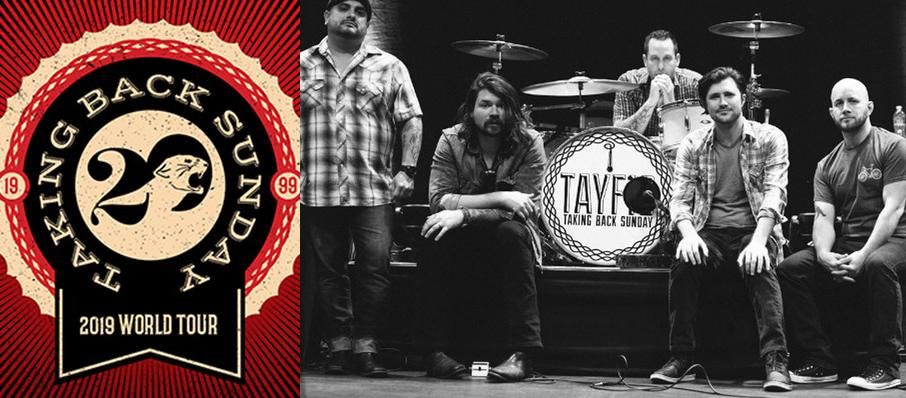 Taking Back Sunday at Franklin Music Hall