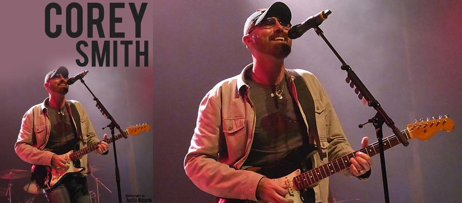 Corey Smith at Union Transfer