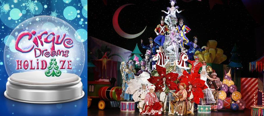 Cirque Dreams Holidaze at Merriam Theater