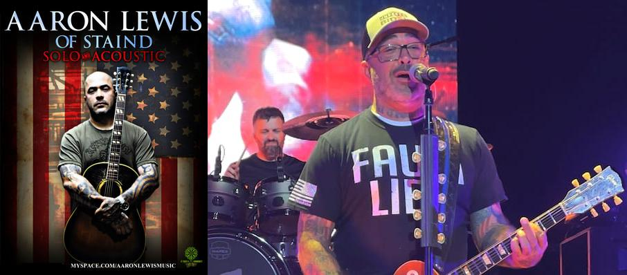 Aaron Lewis at Trocadero Theatre