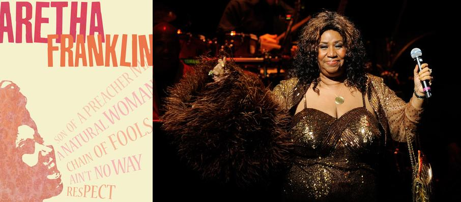 Aretha Franklin at Mann Center For The Performing Arts