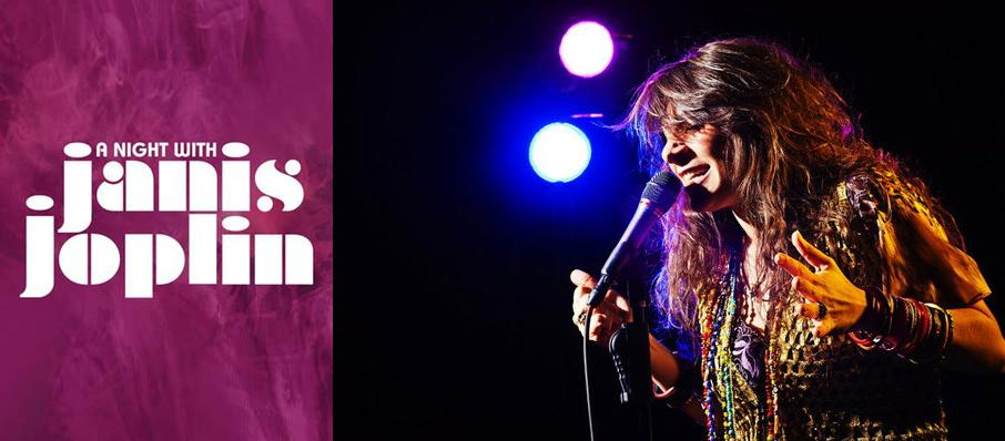A Night with Janis Joplin at Merriam Theater