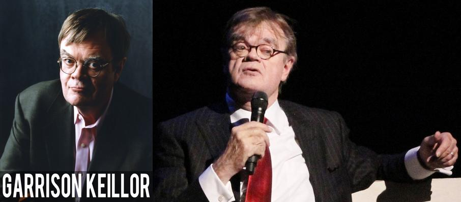 Garrison Keillor at Keswick Theater