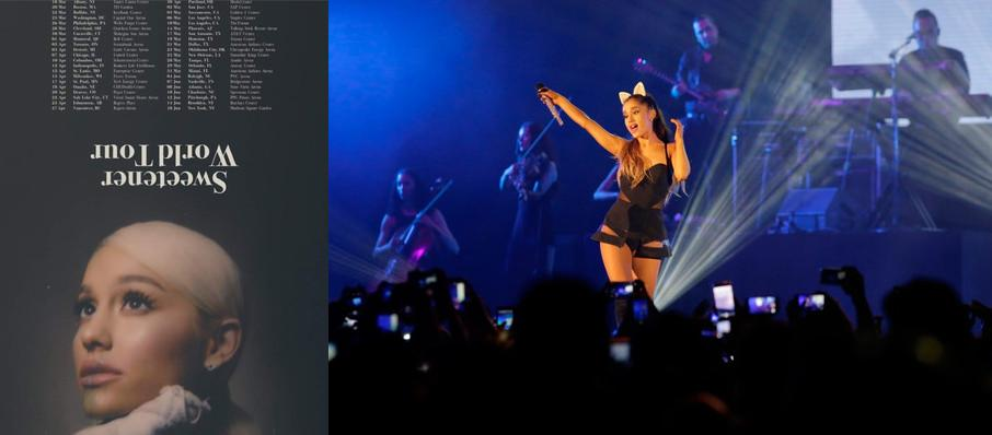Ariana Grande at Wells Fargo Center