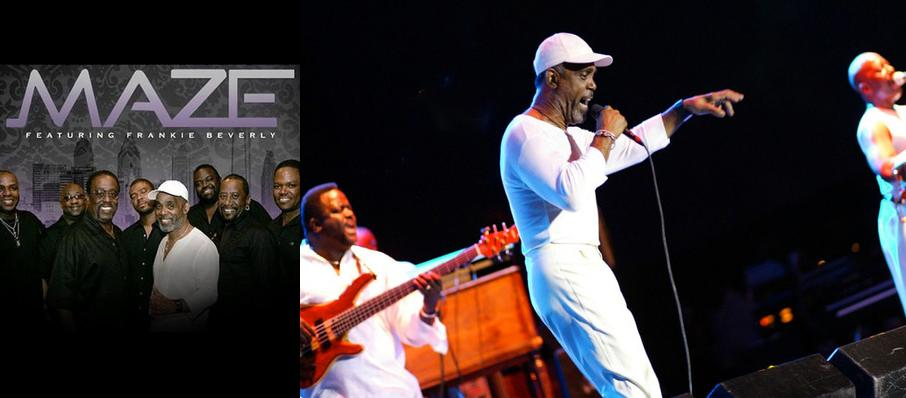 Maze and Frankie Beverly at Dell Music Center