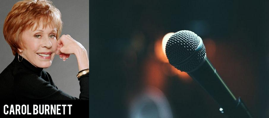 Carol Burnett at Academy of Music
