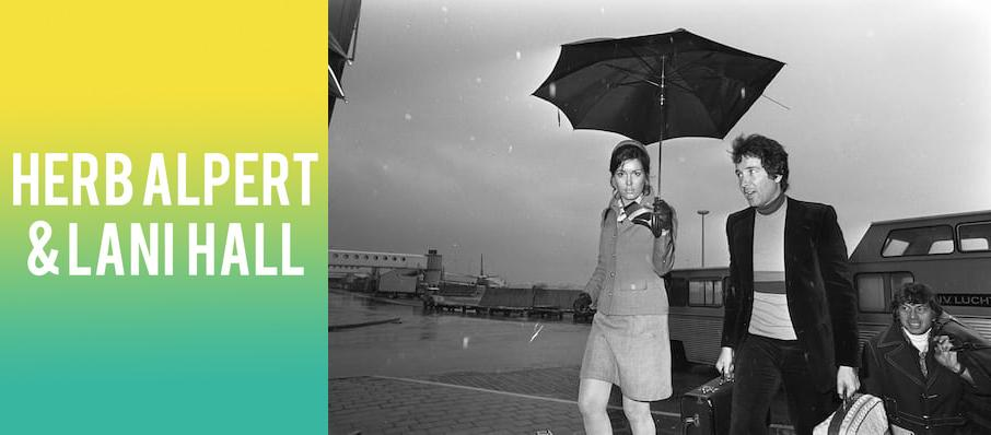 Herb Alpert & Lani Hall at World Cafe Live Upstairs
