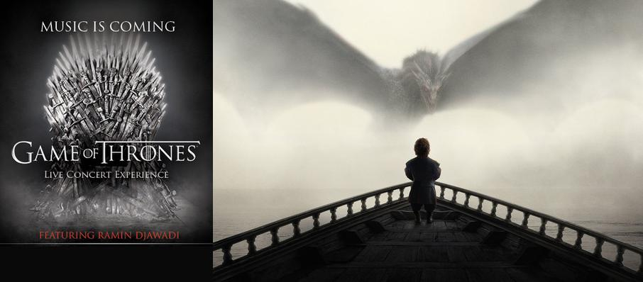 Game of Thrones Live Concert Experience: Ramin Djawadi at Wells Fargo Center