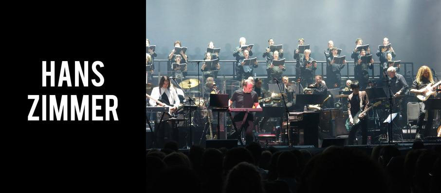 Hans Zimmer at Wells Fargo Center