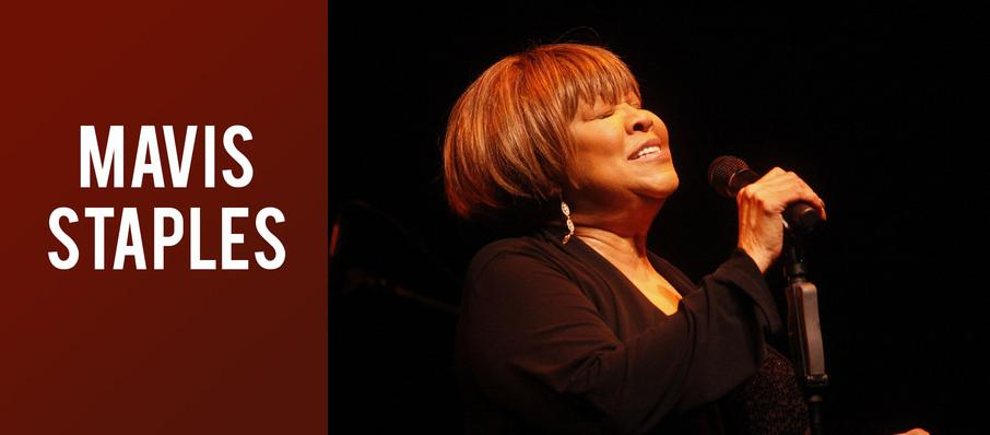Mavis Staples at World Cafe Live Upstairs