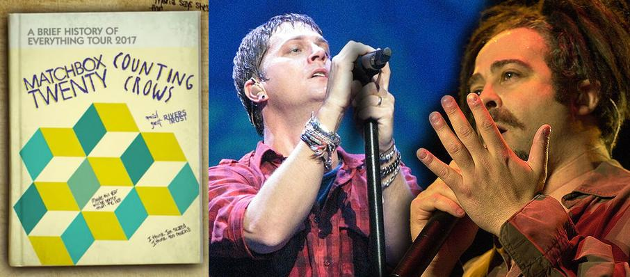 Matchbox Twenty and Counting Crows at BB&T Pavilion