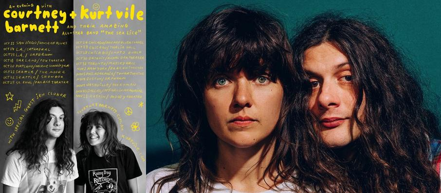 Courtney Barnett and Kurt Vile at Tower Theater