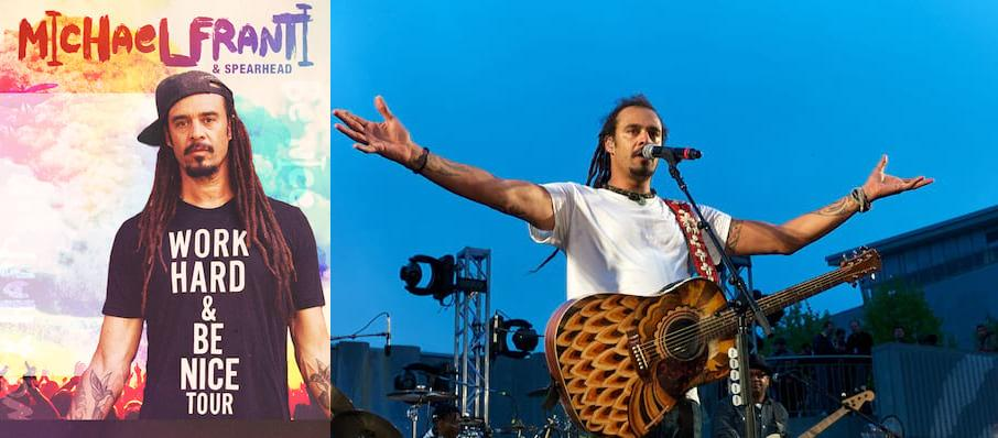 Michael Franti and Spearhead at Theatre Of The Living Arts