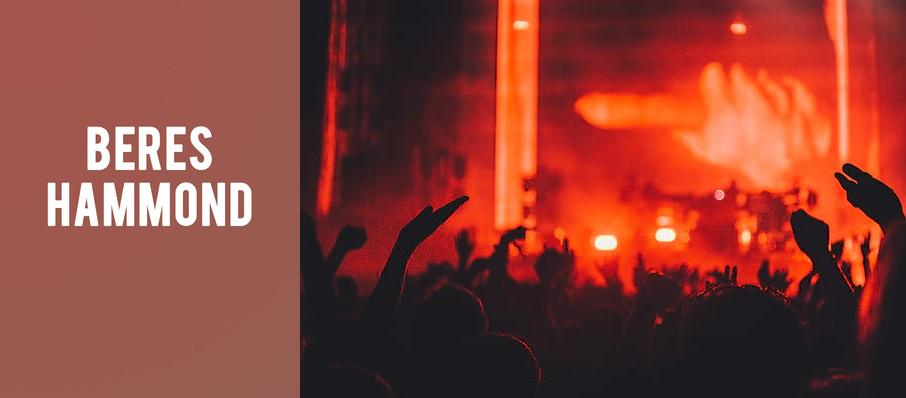 Beres Hammond at Theatre Of The Living Arts