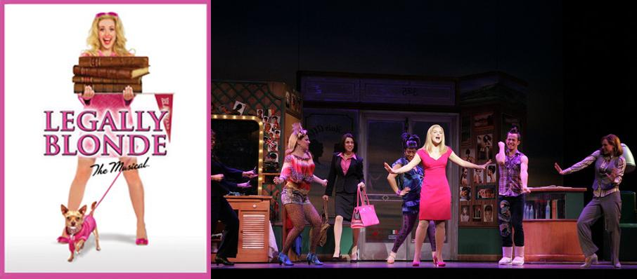 Legally Blonde the Musical at Walnut Street Theatre