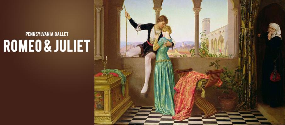 Pennsylvania Ballet - Romeo and Juliet at Academy of Music