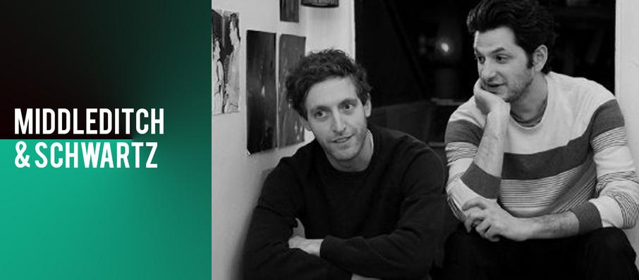 Middleditch and Schwartz at The Met Philadelphia