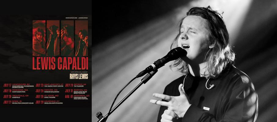 Lewis Capaldi at Theatre Of The Living Arts