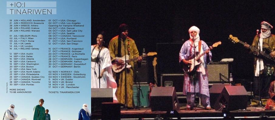 Tinariwen at Union Transfer