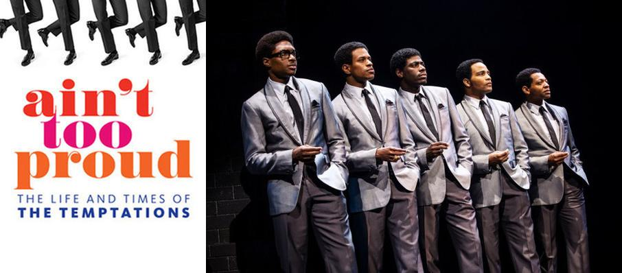 Ain't Too Proud - The Life and Times of the Temptations at Academy of Music