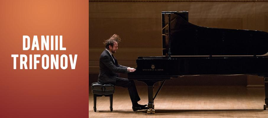 Daniil Trifonov at Verizon Hall