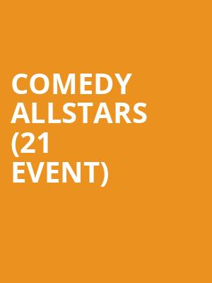 Comedy Allstars (21+ Event) at Punch Line
