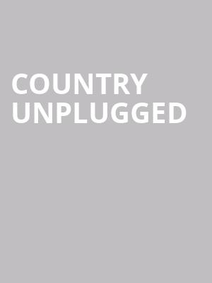 Country Unplugged at Penns Peak