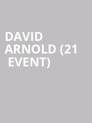 David Arnold (21+ Event) at Punch Line