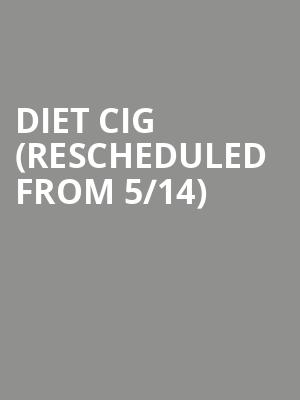 Diet Cig (Rescheduled from 5/14) at Union Transfer