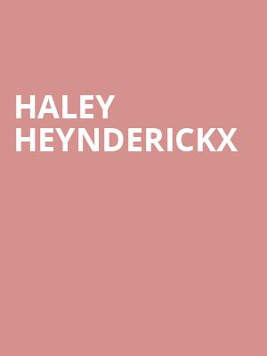 Haley Heynderickx at Boot and Saddle