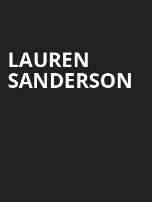 Lauren Sanderson at The Foundry - Philadelphia