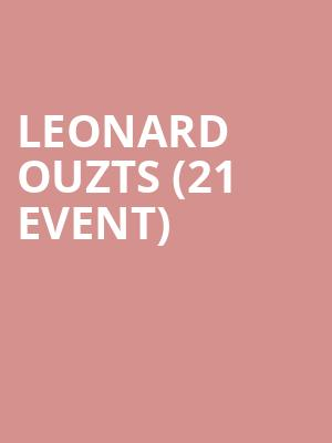 Leonard Ouzts (21+ Event) at Punch Line
