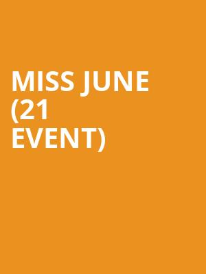 Miss June (21+ Event) at Kung Fu Necktie