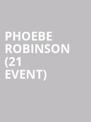 Phoebe Robinson (21+ Event) at Punch Line