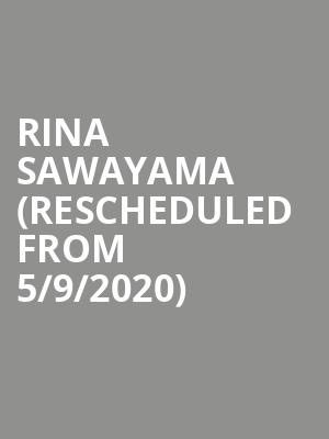 Rina Sawayama (Rescheduled from 5/9/2020) at The Foundry - Philadelphia