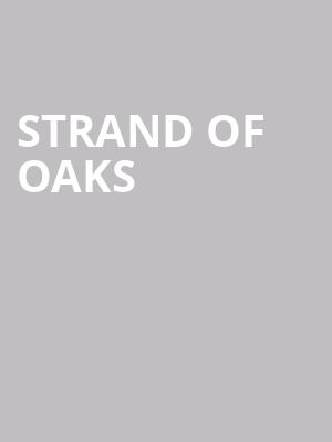 Strand of Oaks at Boot and Saddle