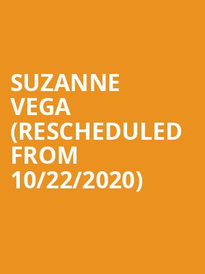 Suzanne Vega (Rescheduled from 10/22/2020) at Musikfest Cafe