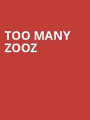 Too Many Zooz at Theatre Of The Living Arts