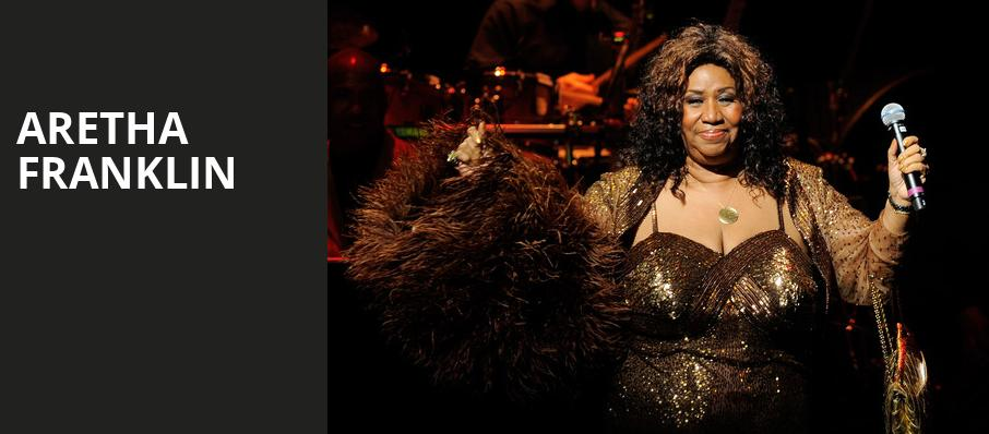 Aretha Franklin, Mann Center For The Performing Arts, Philadelphia