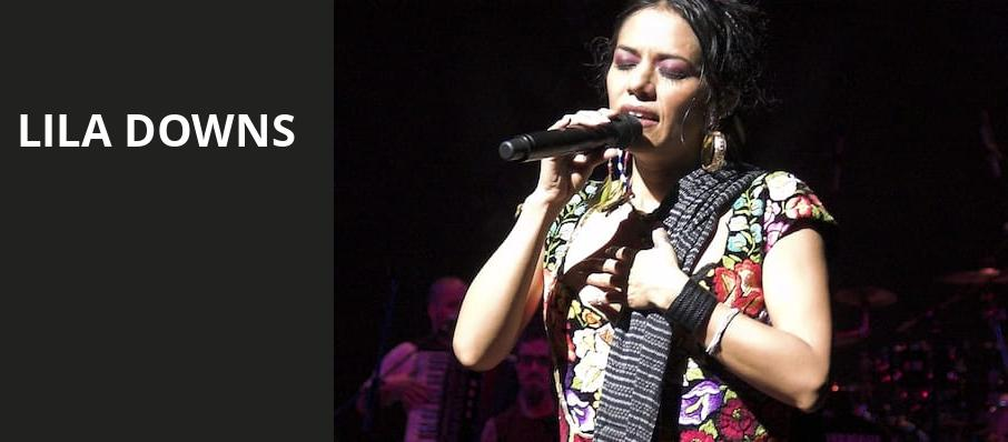 Lila Downs, Zellerbach Theater, Philadelphia