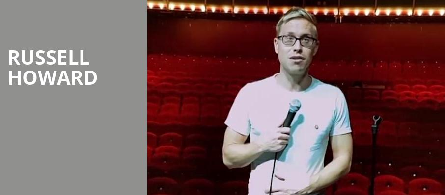 Russell Howard, Theatre Of The Living Arts, Philadelphia