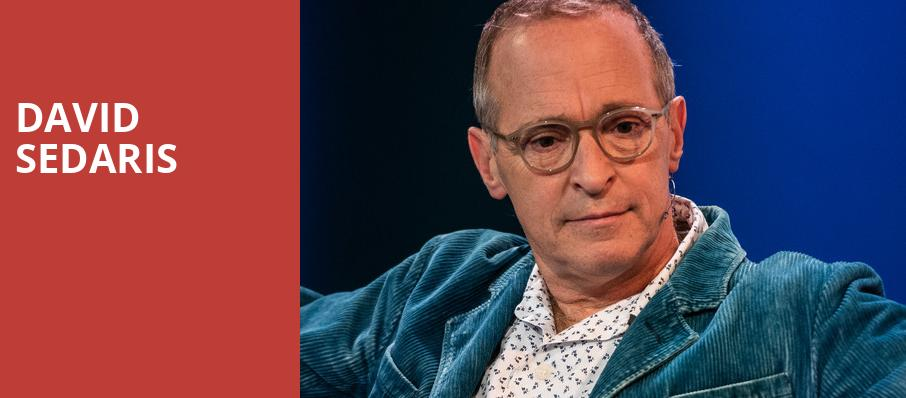 David Sedaris, Academy of Music, Philadelphia