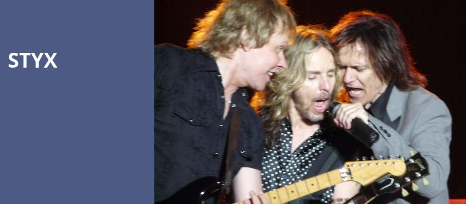 Styx, Parx Casino and Racing, Philadelphia