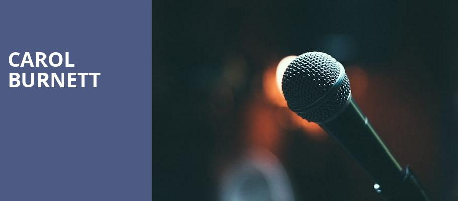 Carol Burnett, Academy of Music, Philadelphia