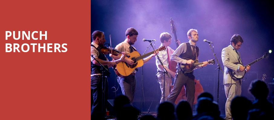 Punch Brothers, Union Transfer, Philadelphia