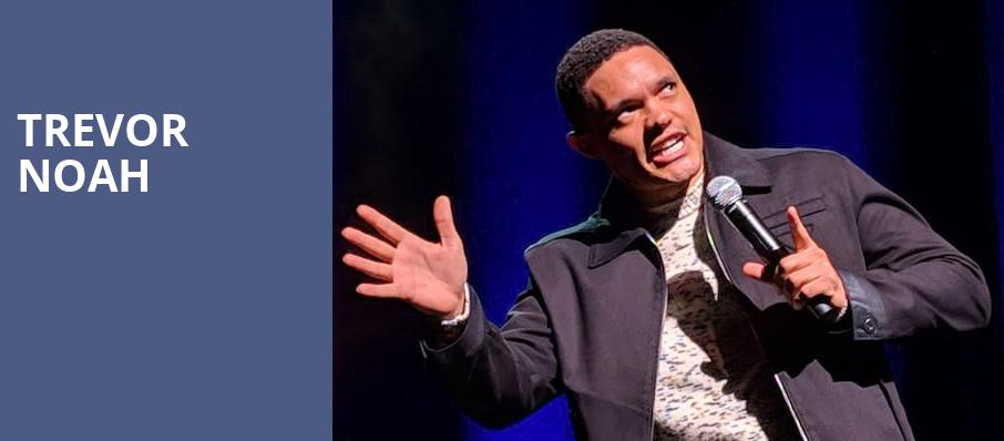 Trevor Noah, Tower Theater, Philadelphia