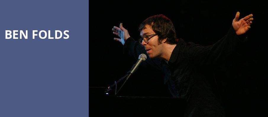Ben Folds, The Fillmore, Philadelphia