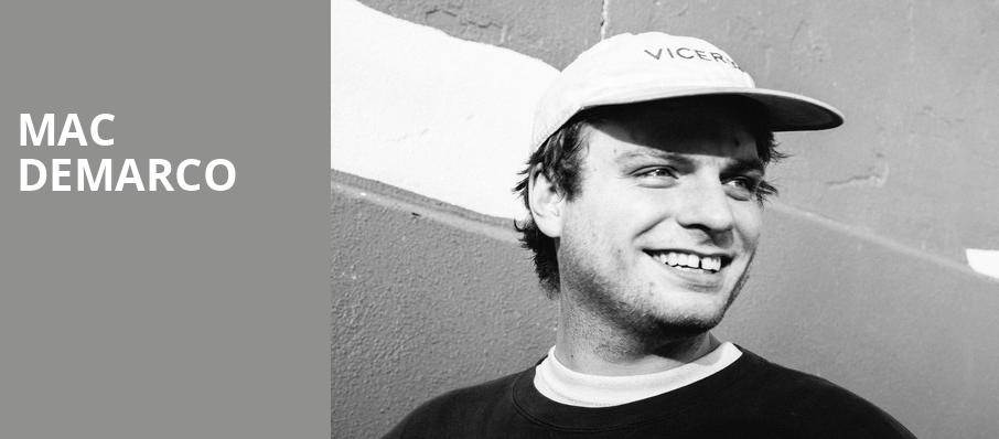 Mac DeMarco, Skyline Stage, Philadelphia