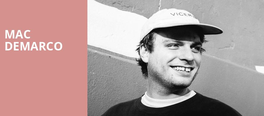Mac DeMarco, Mann Center For The Performing Arts, Philadelphia