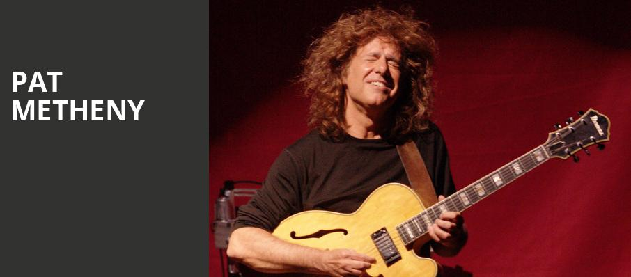 Pat Metheny, Merriam Theater, Philadelphia